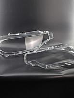 Недорогие -2pcs Автомобиль Автомобильные световые чехлы прозрачный Новый дизайн для Головной свет Назначение BMW 2013 / 2014 / 2015