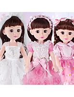 Недорогие -Кукла для девочек Модная кукла Говорящая игрушка Девочки 18 дюймовый Силикон - Smart как живой Дети / подростки Детские Универсальные Игрушки Подарок