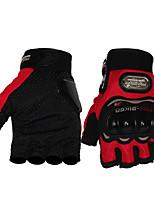 Недорогие -Half-палец Универсальные Мотоцикл перчатки Дышащая сетка Дышащий / Ударопрочность / Защитный