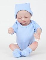 Недорогие -FeelWind Куклы реборн Мальчики 12 дюймовый Полный силикон для тела Силикон Винил - как живой Ручная Pабота Очаровательный Безопасно для детей Дети / подростки Non Toxic Детские Универсальные Игрушки