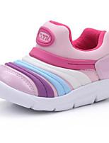 Недорогие -Девочки Обувь Полиуретан Весна & осень Удобная обувь / Обувь для малышей Мокасины и Свитер для Дети (1-4 лет) Черный / Лиловый / Розовый