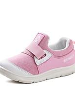 Недорогие -Девочки Обувь Синтетика Весна & осень Удобная обувь Спортивная обувь Для прогулок для Дети Черный / Розовый