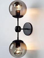 Недорогие -Cool Современный современный Настенные светильники Сад / Коридор Металл настенный светильник 220-240Вольт