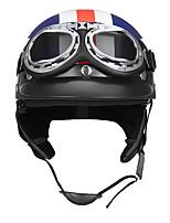 Недорогие -Каска Взрослые / Для подростков Универсальные Мотоциклистам УФ-защита / Защита от удара / Износоустойчивый