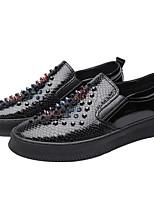 Недорогие -Муж. Комфортная обувь Микроволокно Весна & осень Мокасины и Свитер Золотой / Черный