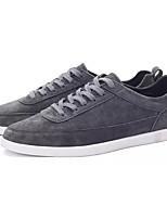 Недорогие -Муж. Комфортная обувь Полиуретан Весна На каждый день Кеды Нескользкий Черный / Серый / Синий