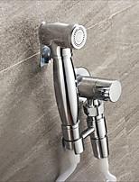 Недорогие -Биде кран ХромToilet Ручной спрей для биде Самоочищение Современный