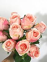 Недорогие -Искусственные Цветы 12 Филиал Классический Современный современный Восточный Вечные цветы Букеты на стол
