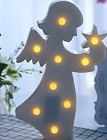 abordables -1pc LED Night Light Blanc Chaud Créatif <5 V
