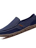 Недорогие -Муж. Комфортная обувь Полиуретан Весна Мокасины и Свитер Серый / Синий / Верблюжий