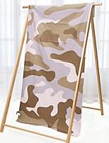 Недорогие -Высшее качество Банное полотенце, Контрастных цветов Полиэстер / хлопок Ванная комната 1 pcs