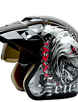 Недорогие -381C Каска Взрослые Универсальные Мотоциклистам Скорость / Анти-Ветер / Прочный