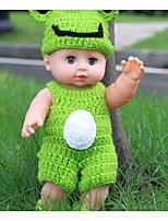 Недорогие -KIDDING Куклы реборн Кукла для девочек Мальчики Девочки 24 дюймовый Полный силикон для тела Силикон Винил - как живой Ручная Pабота Дети / подростки Безопасность Детские Универсальные Игрушки Подарок