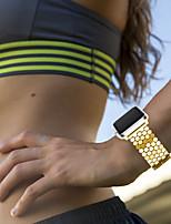 Недорогие -Ремешок для часов для Серия Apple Watch 5/4/3/2/1 Apple Классическая застежка Нержавеющая сталь Повязка на запястье