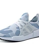 Недорогие -Муж. Комфортная обувь Сетка Весна Кеды Дышащий Белый / Черный / Военно-зеленный