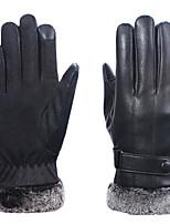 Недорогие -Полныйпалец Муж. Мотоцикл перчатки Кожа Дышащий / Сохраняет тепло / Защитный
