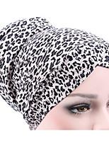 Недорогие -женская полиэстер флоппи шляпа - принт