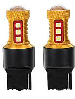 Недорогие -Пара t20 7443/7440 светодиодные стоп-сигналы заднего хода лампы заднего хода dc12v-24v 15 Вт 600lm