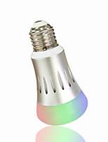 Недорогие -1шт 7 W 600 lm E26 / E27 Умная LED лампа 12 Светодиодные бусины Контроль APP RGBW 110-120 V