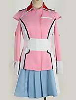 Недорогие -Вдохновлен Gundam Косплей Аниме Косплэй костюмы Косплей Костюмы Простой Кофты / Юбки / Больше аксессуаров Назначение Муж. / Жен.