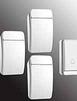 Недорогие -Factory OEM Беспроводное От одного до трех дверных звонков Музыка / Дзынь-дзынь Невизуальные дверной звонок Крепеж на поверхности