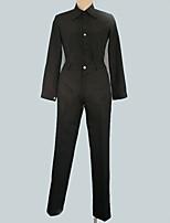 Недорогие -Вдохновлен Final Fantasy Косплей Аниме Косплэй костюмы Косплей Костюмы Однотонный Пальто / Кофты / Брюки Назначение Муж. / Жен.