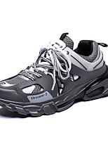 Недорогие -Муж. Комфортная обувь Сетка Весна Кеды Дышащий Черный / Серый / Желтый
