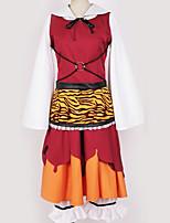 Недорогие -Вдохновлен Проект Тоухоу Косплей Аниме Косплэй костюмы Косплей Костюмы Рисунок Платье / Резинка для волос / Костюм Назначение Муж. / Жен.