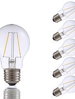 Недорогие -6 шт. Gmy a17 светодиодные лампы Эдисона 2 Вт светодиодные лампы накаливания эквивалент 21 Вт с e26 база 2700 К для спальни гостиной дома декоративные