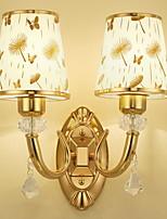 Недорогие -Творчество Ретро Настенные светильники Спальня / В помещении Металл настенный светильник 220-240Вольт 7 W