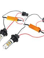 Недорогие -2pcs Мотоцикл / Автомобиль Лампы 20 W SMD 2835 1000 lm 42 HID ксеноны / Светодиодная лампа Фары дневного света / Лампа поворотного сигнала Назначение Volkswagen / Honda / BMW Все года