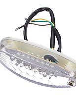 Недорогие -Универсальный номерной знак мотоцикла фонарь задний фонарь 12v 28 светодиодный