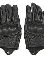 Недорогие -Полныйпалец Универсальные Мотоцикл перчатки Кожа Сенсорный экран / Дышащий / Сохраняет тепло