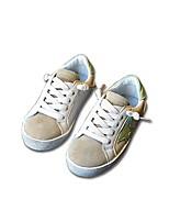 Недорогие -Девочки Обувь Микроволокно Весна Удобная обувь Кеды для Дети / Для подростков Черный / Бежевый / Розовый