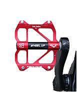 Недорогие -Wheel up Горный велосипед педали Плоские педали и платформы Прочный Простота установки Герметичный подшипник Алюминиевый сплав для Велоспорт Шоссейный велосипед Горный велосипед Велосипедный мотокросс