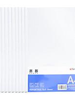 Недорогие -10 pcs M&G ADM92997 Папки файлов A4 PP Прозрачный Custom Label