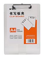 Недорогие -1 pcs M&G ADM92958 Папки файлов A4 пластик Custom Label