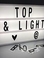 Недорогие -1шт LED Night Light Холодный белый Аккумуляторы AA Творчество <=36 V