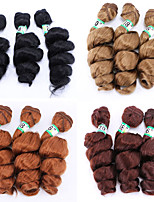 Недорогие -Laflare Омбре Синтетические экстензии Волнистый Искусственные волосы Средняя длина Наращивание волос плетение волос 3 предмета Косплей Регулируется Лучшее качество Жен. Рождество Свадьба Halloween