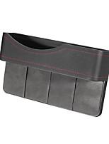 Недорогие -27x16см искусственная кожа автокресло щель ящик для хранения щель сиденья карманный телефон держатель