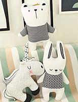 Недорогие -Rabbit единорог Медведи Мягкие и плюшевые игрушки Животные Очаровательный Гусиное перо Все Игрушки Подарок 1 pcs