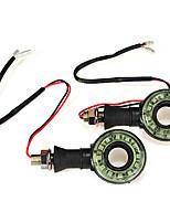 Недорогие -2pcs Проводное подключение Мотоцикл Лампы 12 Светодиодная лампа Лампа поворотного сигнала Назначение Volkswagen / Mercedes-Benz / Honda Все модели Все года