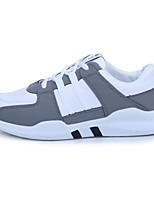 Недорогие -Муж. Комфортная обувь Полотно Лето Кеды Белый / Черный / Серый