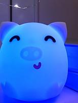 Недорогие -1шт LED Night Light Синий USB Творчество <=36 V