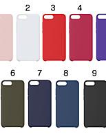 Недорогие -Кейс для Назначение Apple iPhone XR / iPhone XS Max С узором Кейс на заднюю панель Однотонный Мягкий Силикон для iPhone XS / iPhone XR / iPhone XS Max