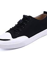 Недорогие -Муж. Комфортная обувь Полотно Лето Кеды Черный / Серый / Коричневый