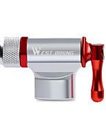 Недорогие -WEST BIKING® Велосипедные насосы Компактность Легкость Легкие материалы Прочный Высокое давление Назначение Шоссейный велосипед Горный велосипед Баскетбол Велоспорт Алюминиевый сплав Красный и серебро