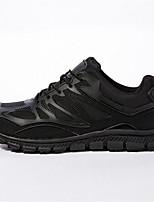 Недорогие -Муж. Комфортная обувь Нейлон Весна & осень Кеды Черный / Бежевый