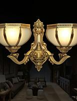 Недорогие -Cool Современный современный Настенные светильники Спальня Металл настенный светильник 220-240Вольт