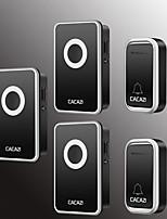 Недорогие -Беспроводное Два-три дверных звонка Музыка / Дзынь-дзынь Невизуальные дверной звонок